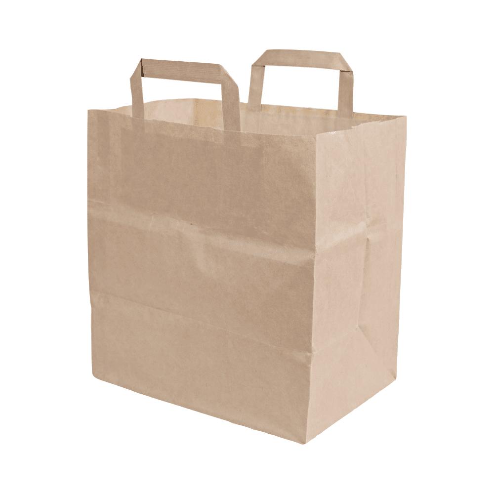 Biorazgradljiva vrečka | kraft papir | 17 L | 200/1