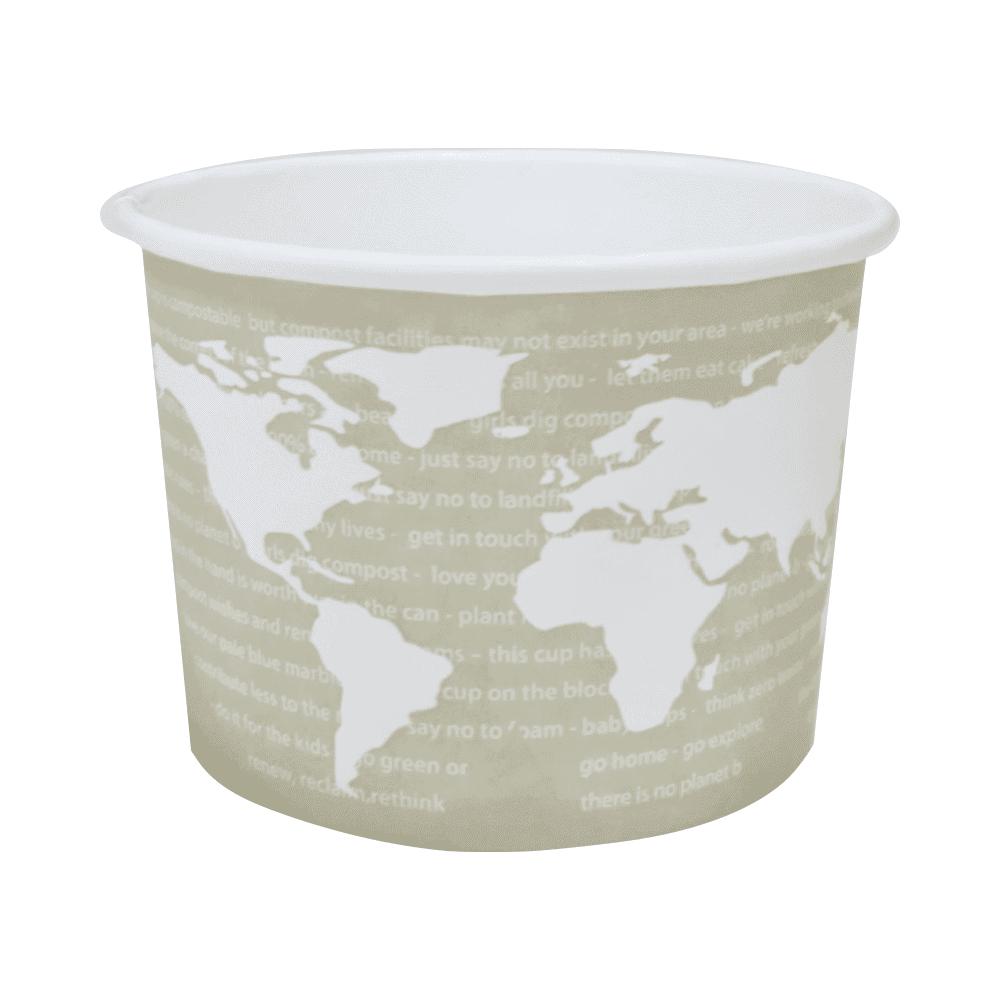 Biorazgradljiva embalaža // Biorazgradljiva skodelica WorldArt 355 ml