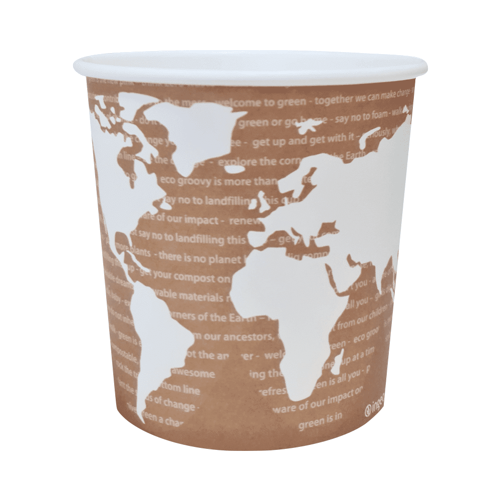 Biorazgradljiva skodelica WorldArt | papir s PLA premazom | 710 ml | 25/1