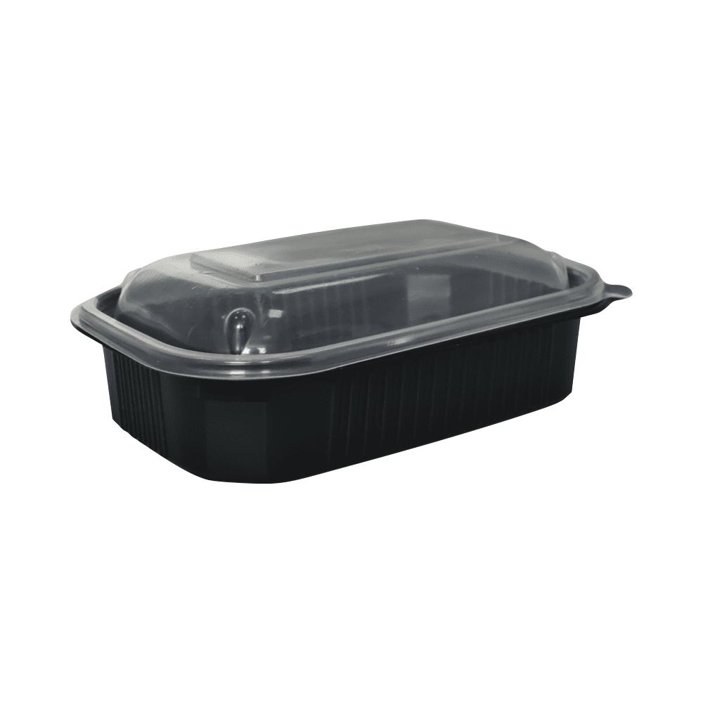 Posodica za hrano Črna | 850 ml | PP