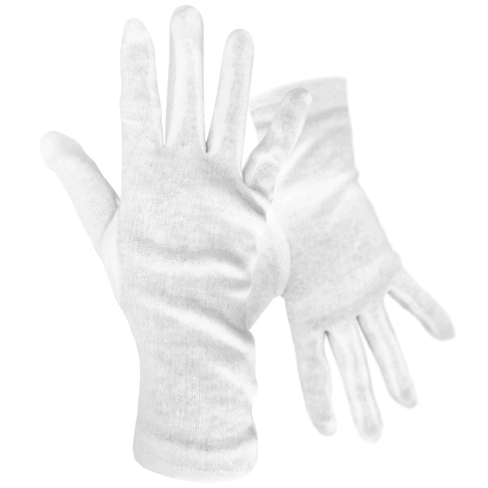 Zaščitne rokavice bele Bombaž