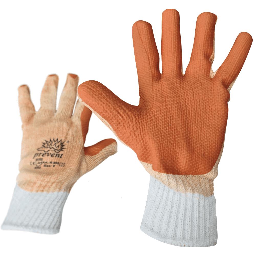 Zaščitne rokavice Prevent prevlečene z Lateksom