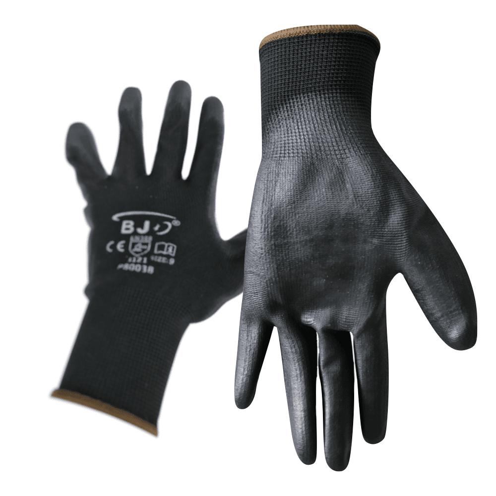 Zaščitne rokavice črne Najlon